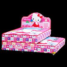 tempat tidur bigland Hello Kitty Twin Bed