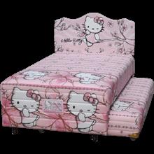 tempat tidur bigland Twin Hello Kitty Magnolia
