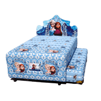 tempat tidur bigland Twin Frozen 1