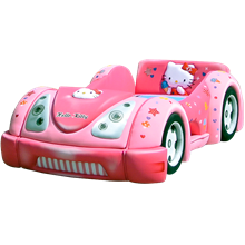 tempat tidur bigland Bed Car Hello Kitty (Baggage Series)