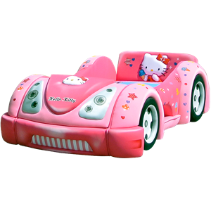 tempat tidur bigland Bed Car Hello Kitty (Baggage Series)