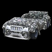 tempat tidur bigland BED CAR ARMY 1
