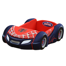 tempat tidur bigland Bed Car New Spiderman Classic Sport (Baggage Series)