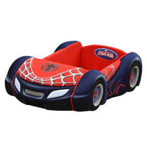 tempat tidur bigland Bed Car New Spiderman Classic Sport (Baggage Series)