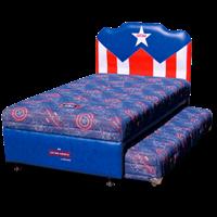 tempat tidur biogland TWIN CAPTAIN AMERICA SANDARAN AMERICAN FLAG 1