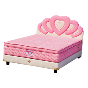 tempat tidur bigland Hello Kitty Plus Top Latex
