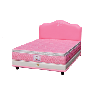 tempat tidur bigland Hello Kitty Pillow Top