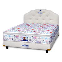 tempat tidur bigland FROZEN WINTER MAGIC PILLOW TOP