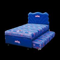 tempat tidur bigland TWIN SPIDERMAN ULTIMATE SANDARAN SPIDERWEB 1