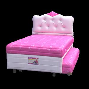 tempat tidur bigland Twin Barbie Luxe