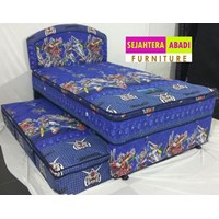 Tempat Tidur Bella 2in1 Super Karakter Power Rangers