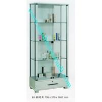 lemari arsip graver LH6813 (796X370X1860) warna puitih  1