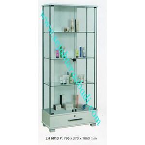 lemari arsip graver LH6813 (796X370X1860) warna puitih