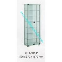 lemari arsip graver LH 6606 (596X370X1670) WARNA PUTIH  1
