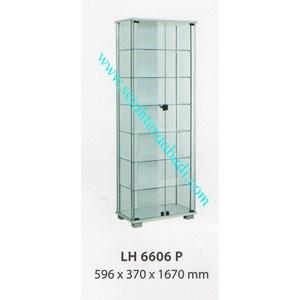 lemari arsip graver LH 6606 (596X370X1670) WARNA PUTIH