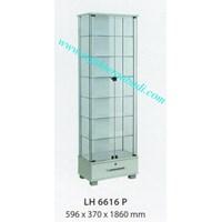 lemari arsip graver LH 6616 (596X370X1860) warna putih  1