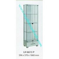 lemari arsip graver LH 6613 (596X370X1860) warna putih  1