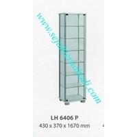 Jual lemari arsip graver LH 6406 (430X370X1670) warna putih