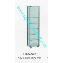 lemari arsip graver LH 6406 (430X370X1670) warna putih