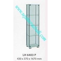 lemari arsip graver LJ 6403 (430X370X1670) WARNA PUTIH