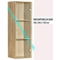 lemari pakaian graver LH 2260 (396X340X1190) 1