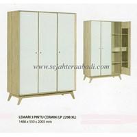 lemari pakaian 23 pintu cermin (LP 2298 XL ) 1