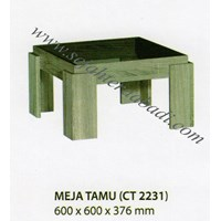 meja ruang keluarga CT 2231 (600X600X376)