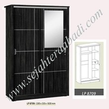 lemari pakian graver LP 8709 (1200X550X1830)