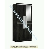 lemari pakaian LP8296 ( 800X430X1800) 1