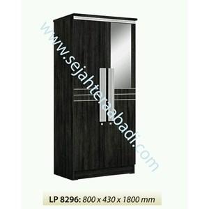 lemari pakaian LP8296 ( 800X430X1800)