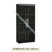 lemari pakaian LP 8795 (800x430x1800)