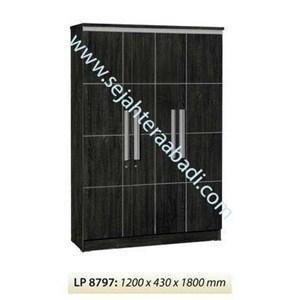 lemari pakaian LP 8797 (1200X430X1800)