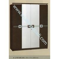 lemari pakaian LP 4P (WD 299) (1585X510X2000) 1
