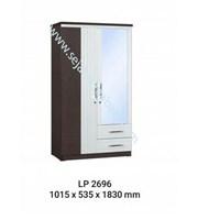 lemari pakaian LP 2696 (1015X535X1830)