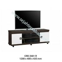 Jual rak tv (CRD 2681R) 1200X400X4354