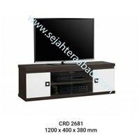 Jual rak tv (CRD 2681R) 1200X400X380mm