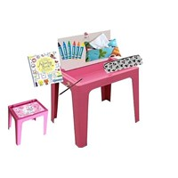 Jual meja plastik merk olmplast type OKT kids table