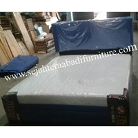 tempat tidur merk shirin karakter polos