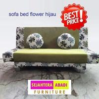 Jual kursi ruang keluarga warna hijau merk SAF