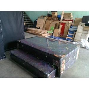 spring bed 2in1 merk sirin ukuran 120x200 warna coklat