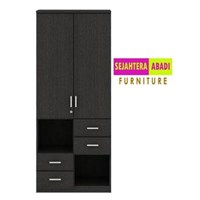 Lemari Arsip / Lemari Dokumen  type Cabinet DHG-8007 + DC-02 merk expo