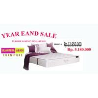 Spring Bed merk florence tipr chiro care ukuran 160x200