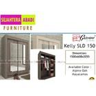 lemari pakaian garvani tipe KELLY SLD 150 1