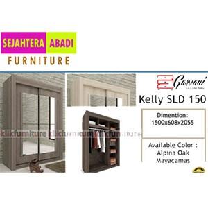 lemari pakaian garvani tipe KELLY SLD 150