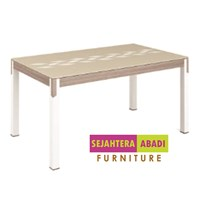 Siantano Brand table Type DT Verona + Glass