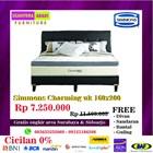 Springbed merk Simmons Charming uk 160x200 1