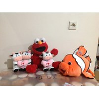 Boneka Nemo and cow with love