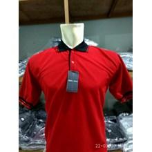 Kaos Seragam Bahan PE Merah