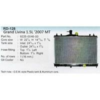 Radiator Nissan Grand Livina 1.5L MT Fin 8 Mm