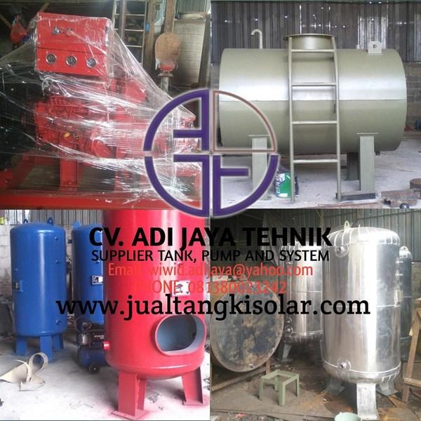 Pressure tank 5000 Liter